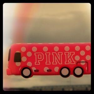 Victoria secret pink bus keychain